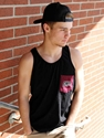 Mens Black CWU Pocketed Tank