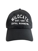7b7d6981 Black Adjustable Wildcats Hat