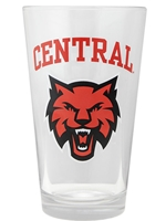 Central Wildcats Pint Glass