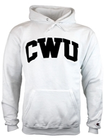 Basic Hood White/Black CWU Sweatshirt