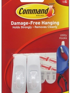 3M Command Utility Hooks - Small